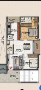 Gallery Cover Image of 1235 Sq.ft 2 BHK Apartment for buy in Uppal for 8000000