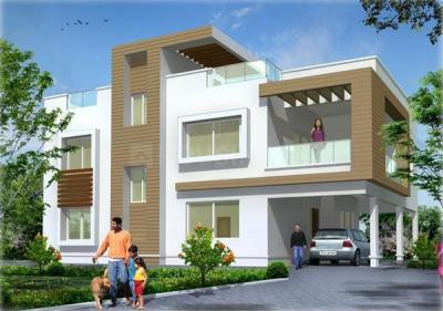 Gallery Cover Image of 1250 Sq.ft 3 BHK Independent House for buy in Kandigai for 3550000