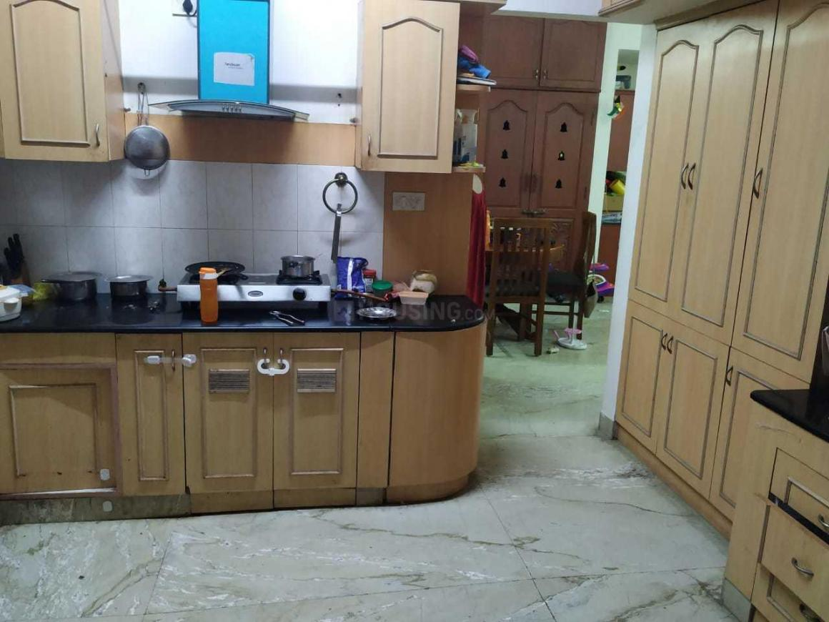 Kitchen Image of 1500 Sq.ft 3 BHK Apartment for rent in Thoraipakkam for 27000