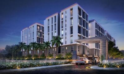 Gallery Cover Image of 915 Sq.ft 2 BHK Apartment for buy in Purti Aqua 2, Kaikhali for 4346250