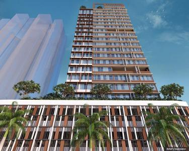 Gallery Cover Image of 1119 Sq.ft 3 BHK Apartment for buy in Dosti Belleza, Parel for 35700000