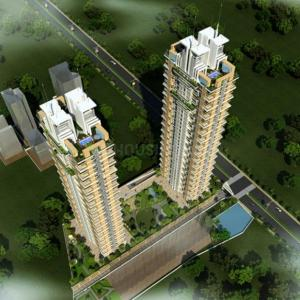Gallery Cover Image of 1749 Sq.ft 3 BHK Apartment for buy in Deep Homes Auralis The Twins, Thane West for 21000000