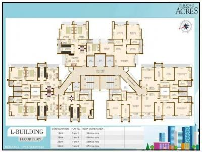 Gallery Cover Image of 750 Sq.ft 2 BHK Apartment for buy in Bhoomi Acres, Hiranandani Estate for 11500000