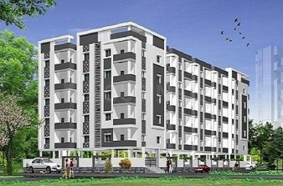Gallery Cover Image of 1820 Sq.ft 3 BHK Apartment for buy in Moula Ali for 7280000