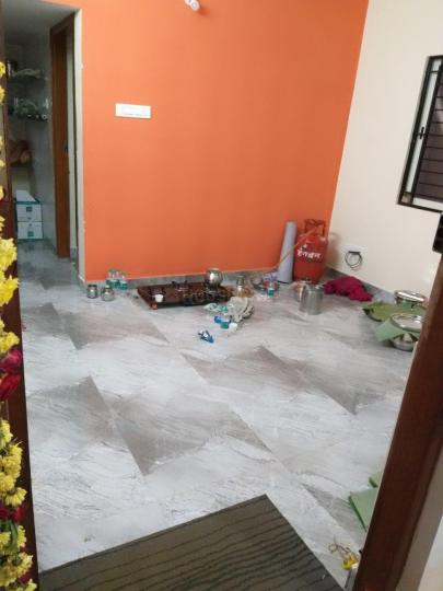 Living Room Image of 400 Sq.ft 1 BHK Independent House for rent in Laggere for 7000