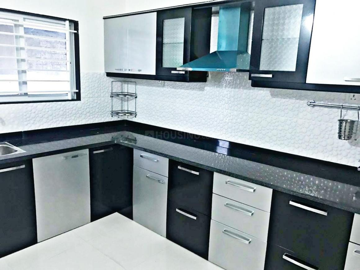 Kitchen Image of 1400 Sq.ft 3 BHK Independent House for buy in Gandhinagar for 4190000