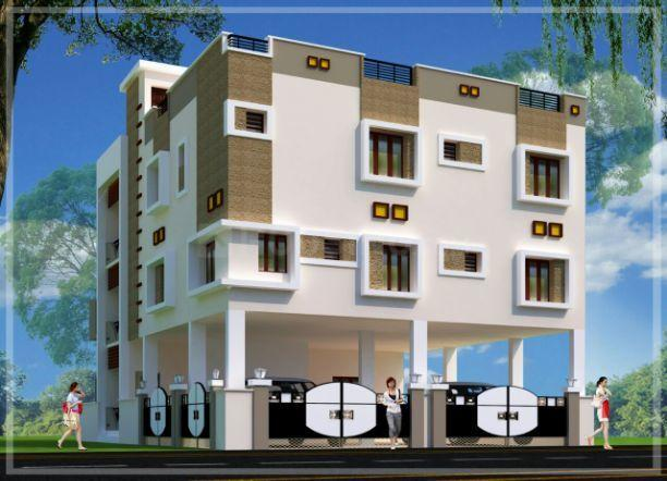 Building Image of 1335 Sq.ft 1 BHK Apartment for buy in Kolathur for 6700000