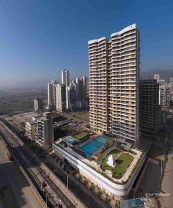 Gallery Cover Image of 1240 Sq.ft 2 BHK Apartment for rent in Paradise Sai Miracle, Kharghar for 26000