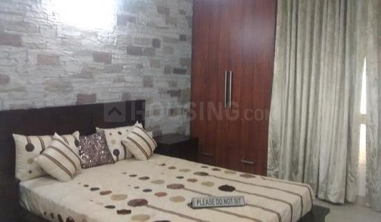 अहिंसा खंड में पीजी मून सिटी इंदिरापूरम गाज़ियाबाद के बेडरूम की तस्वीर