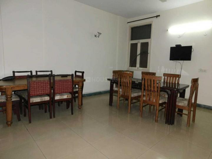 खुशी पीजी इन सेक्टर 33 के लिविंग रूम की तस्वीर