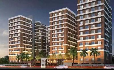 Gallery Cover Image of 923 Sq.ft 3 BHK Apartment for buy in Purti Veda, New Town for 4900000