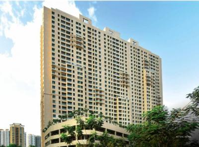 Gallery Cover Image of 696 Sq.ft 2 BHK Apartment for buy in Thane West for 14274000