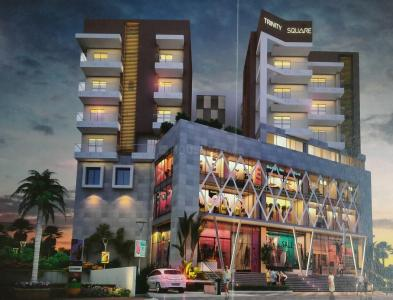 Gallery Cover Image of 1400 Sq.ft 3 BHK Apartment for buy in Trinity Square, Rani Bagan for 7700000