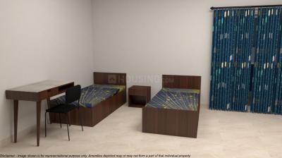 Bedroom Image of Zentrum Apartment 1 in Nungambakkam