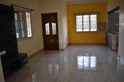 Gallery Cover Image of 1200 Sq.ft 2 BHK Independent House for rent in Hemmigepura for 14000