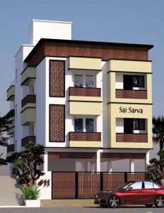 Gallery Cover Image of 932 Sq.ft 2 BHK Apartment for buy in Vedic Sai Sarva, Sholinganallur for 4939600