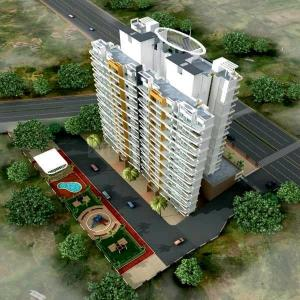 Gallery Cover Image of 750 Sq.ft 1 BHK Apartment for buy in G K Mali and C K Mali Durga Imperial, Kalyan East for 4500000