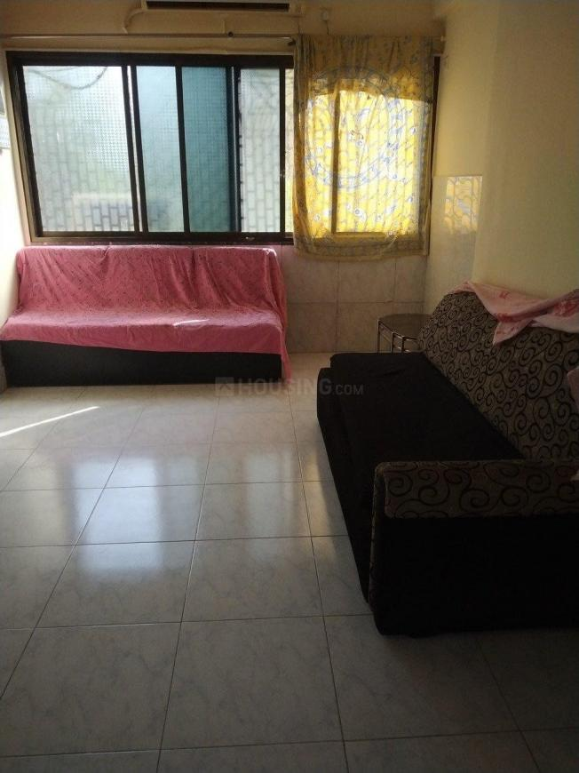 Living Room Image of 600 Sq.ft 1 BHK Apartment for rent in Mulund West for 18000