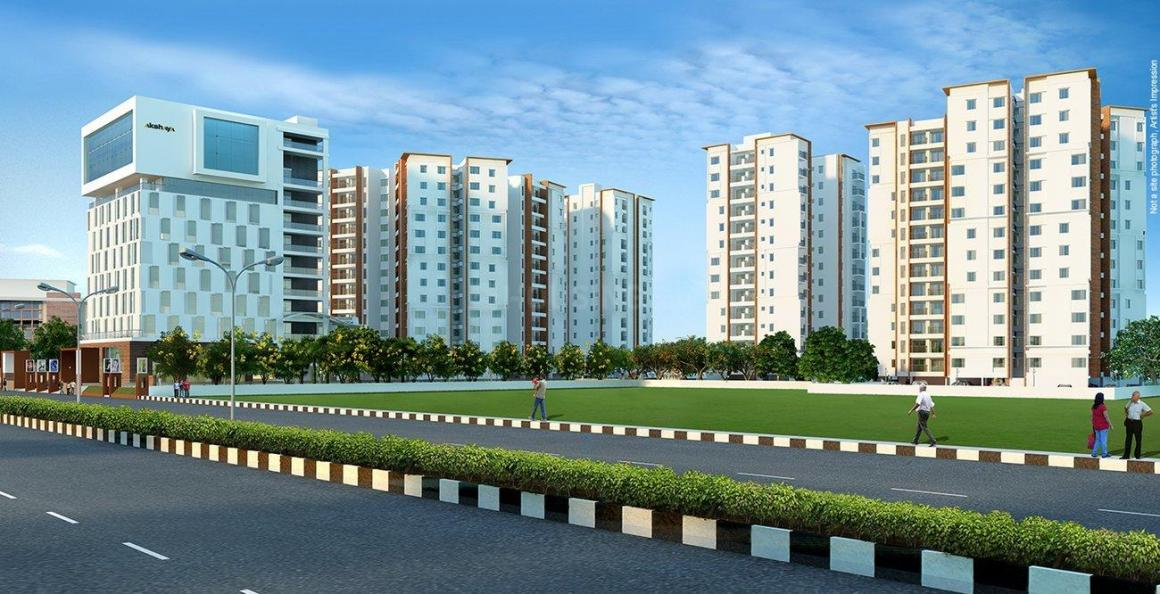Building Image of 1576 Sq.ft 3 BHK Apartment for buy in Thoraipakkam for 16100000