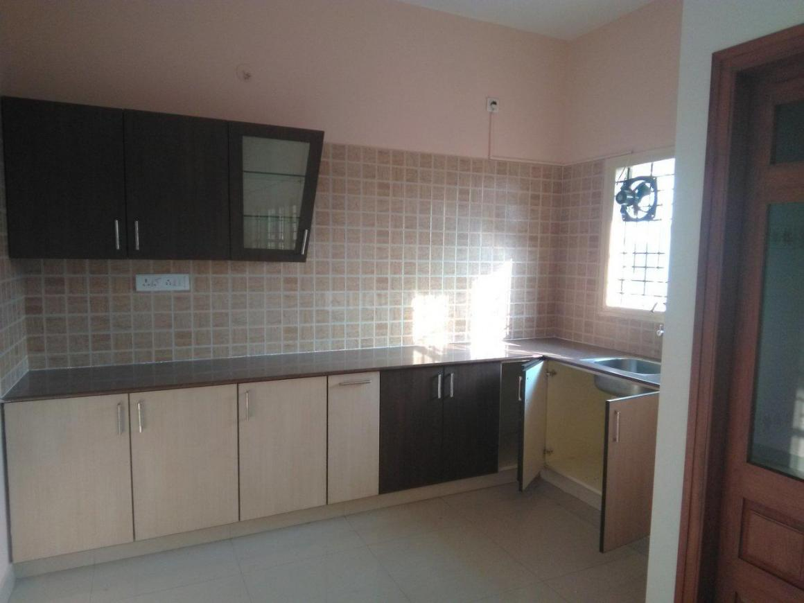 Kitchen Image of 1200 Sq.ft 2 BHK Independent Floor for rent in Kodigehalli for 15000