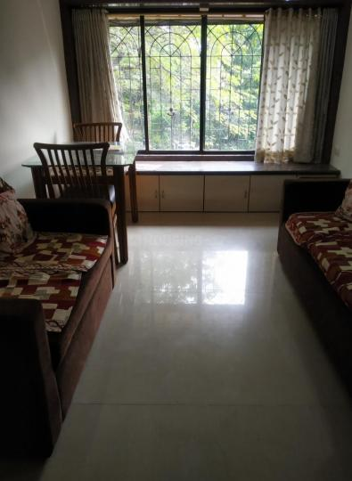 Living Room Image of 585 Sq.ft 1 BHK Apartment for rent in Mulund West for 24000