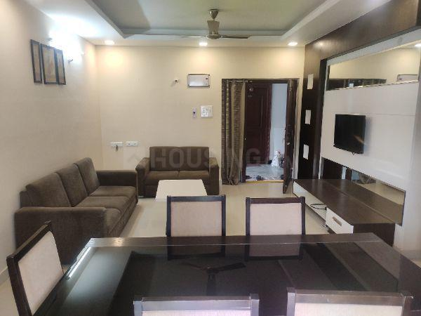 Living Room Image of 1800 Sq.ft 3 BHK Apartment for rent in Madhapur for 39000