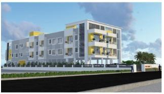 Gallery Cover Image of 826 Sq.ft 2 BHK Apartment for buy in Iyyappanthangal for 4708200