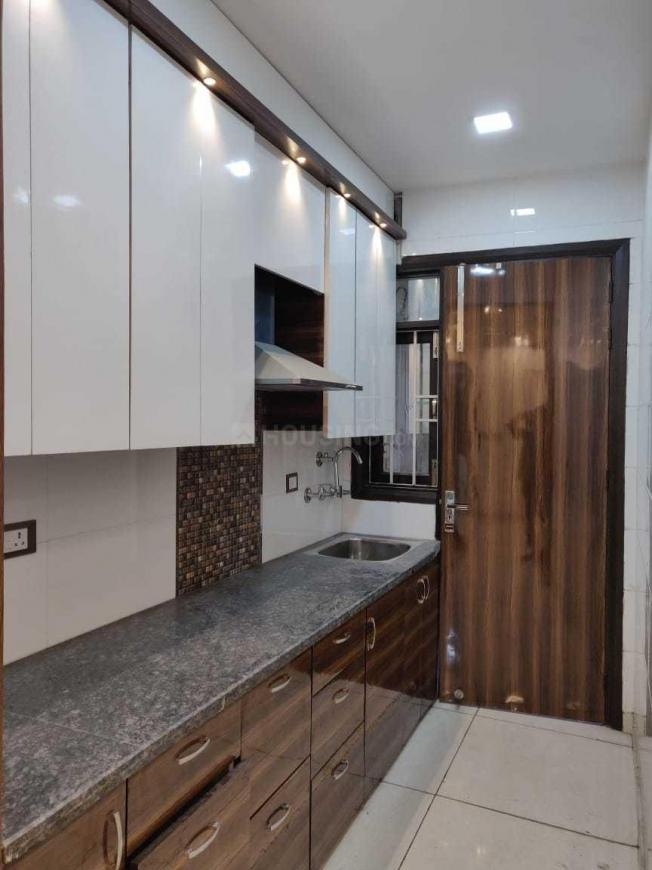 Kitchen Image of 600 Sq.ft 1 BHK Independent Floor for buy in Janakpuri for 4200000