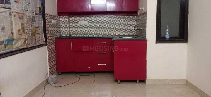 Kitchen Image of 550 Sq.ft 1 BHK Independent Floor for rent in Chhattarpur for 8000