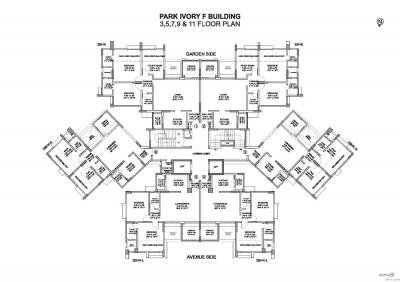 Gallery Cover Image of 1290 Sq.ft 2 BHK Apartment for buy in Pride Purple Park Ivory, Wakad for 10600000