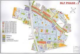 1022 Sq.ft Residential Plot for Sale in DLF Phase 1, Gurgaon
