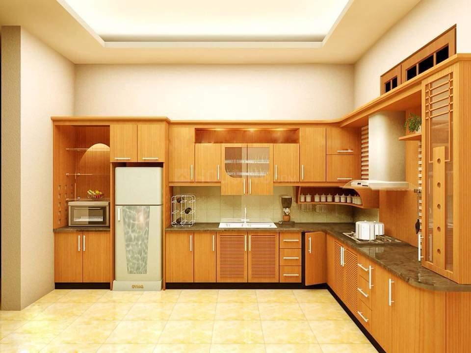 Kitchen Image of 1600 Sq.ft 3 BHK Apartment for rent in Sadashiv Nagar for 12000