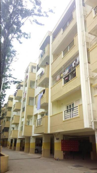 Building Image of 1300 Sq.ft 2 BHK Apartment for rent in Bikasipura for 15500