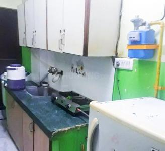 Kitchen Image of Rent Rooms For Girls in Laxmi Nagar