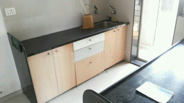Kitchen Image of 1250 Sq.ft 3 BHK Apartment for rent in Mhatre Nagar for 16000