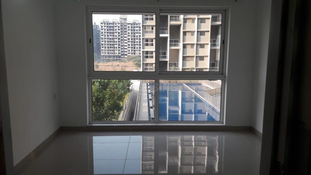 Bedroom One Image of 1095 Sq.ft 2 BHK Apartment for rent in Undri for 15000