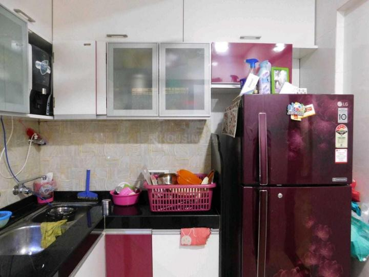 Kitchen Image of 900 Sq.ft 2 BHK Apartment for rent in Thane West for 34000