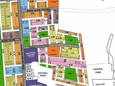 192 Sq.ft Residential Plot for Sale in Sector 42, Gurgaon