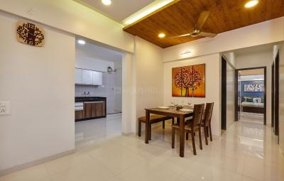 Living Room Image of 1300 Sq.ft 3 BHK Apartment for buy in Nyati Enchante II, Wadgaon Sheri for 11500000