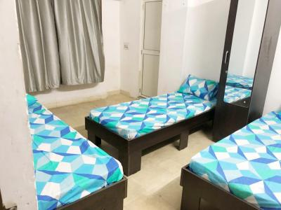 Bedroom Image of Shreenath Paying Guest in Vastrapur