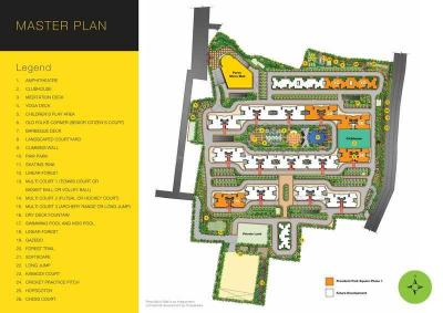 Gallery Cover Image of 1106 Sq.ft 3 BHK Apartment for buy in Provident Park Square, Mallasandra for 7189000