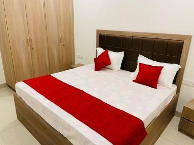 Bedroom Image of Aryan Pgs in Karol Bagh