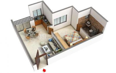 Floor Plan Image of PG For Either Girls Or Boys in Siruseri