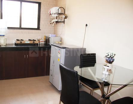 Kitchen Image of 1600 Sq.ft 3 BHK Apartment for rent in Wadgaon Sheri for 35000