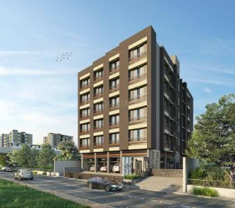 Gallery Cover Image of 2178 Sq.ft 3 BHK Apartment for buy in Swara Sapphire, Ambawadi for 13068000