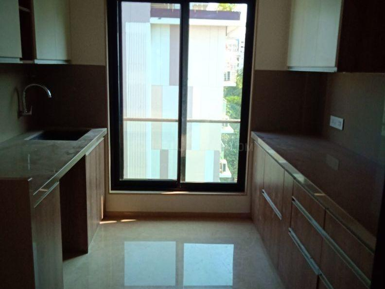 Kitchen Image of 650 Sq.ft 1 BHK Apartment for rent in Gamdevi for 70000
