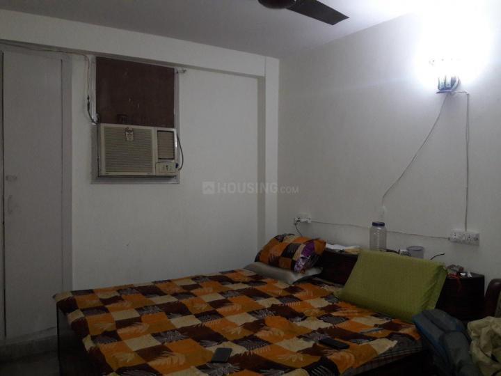 खिरकी एक्सटेंशन में कूकू पीजी के बेडरूम की तस्वीर