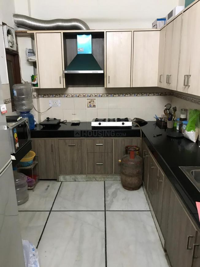 Kitchen Image of 1800 Sq.ft 3 BHK Independent Floor for rent in Greater Kailash for 55000