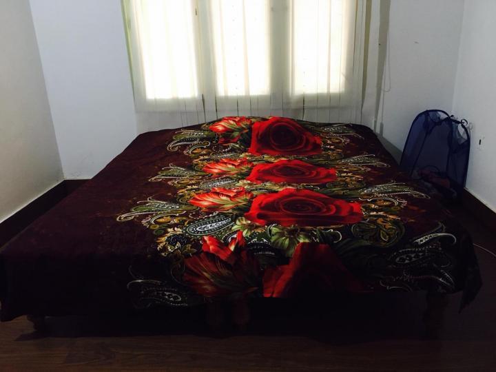 डोमलूर लेआउट में भाई पंजाबी पीजी में बेडरूम की तस्वीर