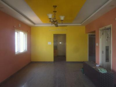 Gallery Cover Image of 1100 Sq.ft 2 BHK Independent Floor for rent in Nandini Layout for 17000
